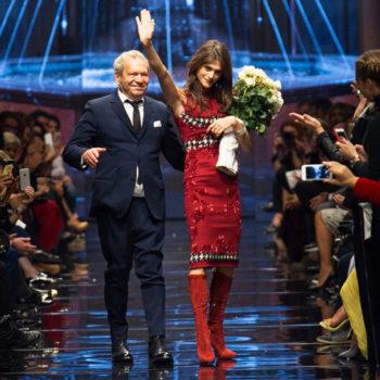 Лицом рекламной кампании бренда Ermanno Scervino выбрана Элиза Седнауи