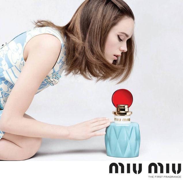 Miu Miu использовала в рекламной кампании молодых актеров